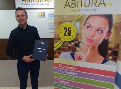 Prvi diplomant študijskega programa Informatika na Abituri