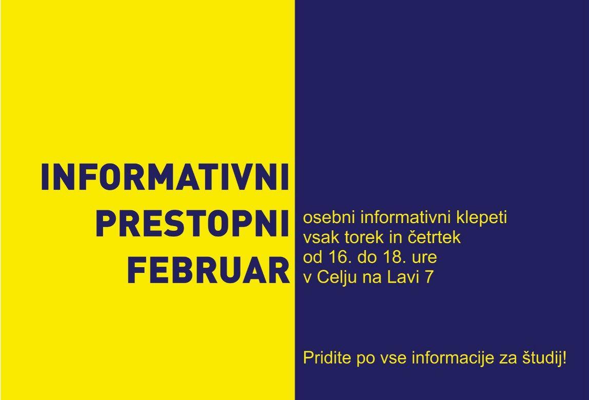Informativni prestopni februar