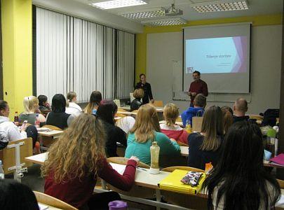 Predavanje gospe Snežane Delakorda – 4. januar 2017