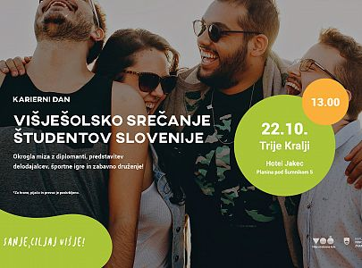 KARIERNI DAN: Višješolsko srečanje študentov Slovenije