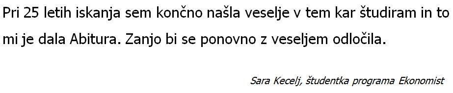 Sara Kecelj- za splet
