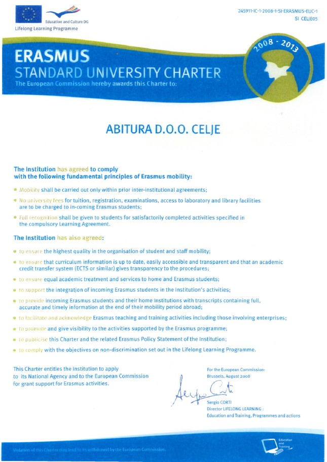 Erasmus Policy Statement (EPS)